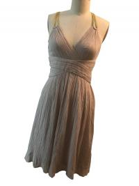 Phillip Lim Gray Grecian Cotton SunDress