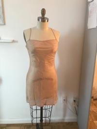 Soft pink Maje flowy Dress Angle3