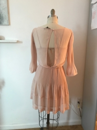 Soft pink Maje flowy Dress Angle5