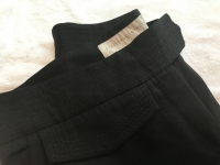 Stella McCartney gray wool cropped leg carpri dres Angle2