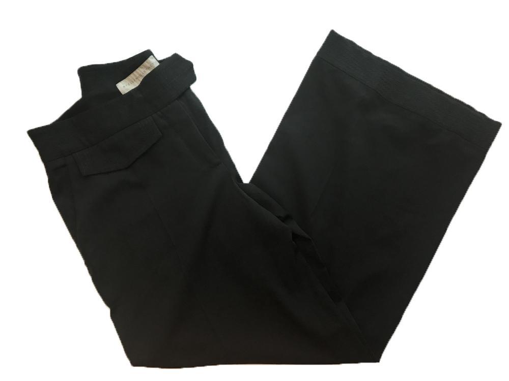 Stella McCartney gray wool cropped leg carpri dres