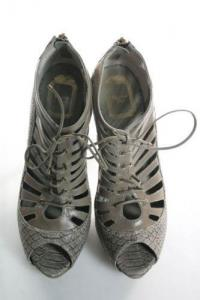 Dior snakeskin sandals Angle3