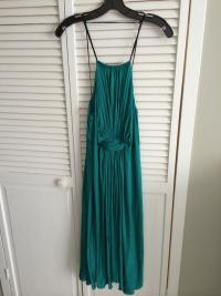 Phillip Lim Aqua Green Jersey Dress Angle2