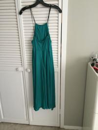 Phillip Lim Aqua Green Jersey Dress Angle5