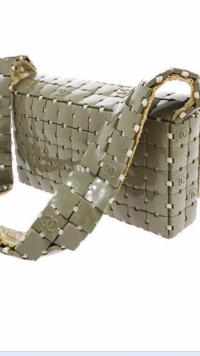 Grey Chanel shoulder bag