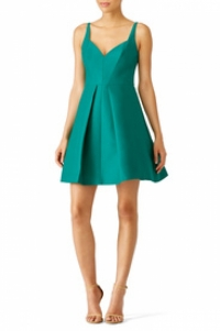 Cute green Halston Heritage Dress