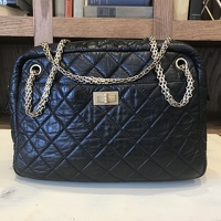 Chanel Aged Calfskin 2.55 Reissue Lrg Camera Case Angle13
