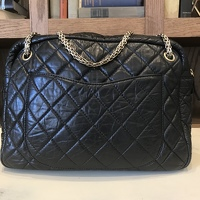 Chanel Aged Calfskin 2.55 Reissue Lrg Camera Case Angle4