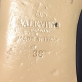 Valentino Garavani  Rockstud ballet flats navy 38