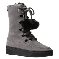 Juno Faux Fur Trim Cold Weather Winter Boots