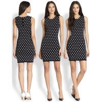 Marta Polka Dot Bodycon Dress