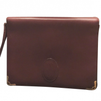 Cartier clutch bag with handle strap