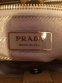 Prada Small handbag, Camel color  Angle4