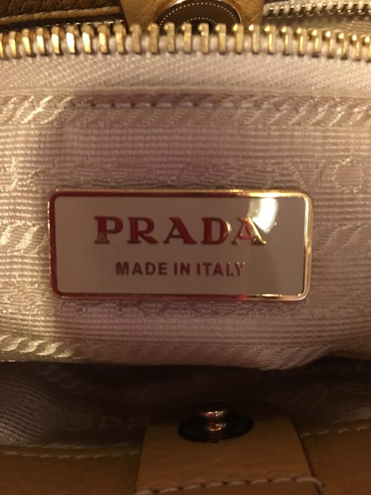 Prada Small handbag, Camel color