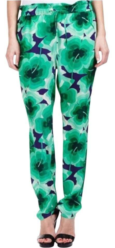 Silk Moschino drawstring pants