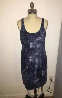 Michael Kors abstract print shift dress Angle6