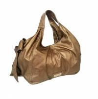 Metallic Gold Valentino Nuage Bow Angle1
