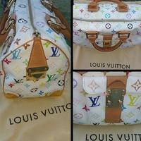 Louis Vuitton Murakami Multicolored Speedy Angle5