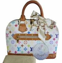 Louis Vuitton Multicolored Alma Blanc