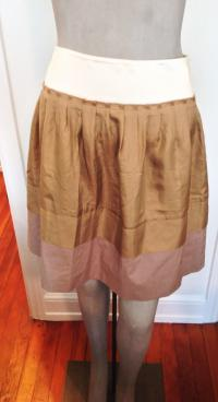 Philosophy Di Alberta Ferretti Tan Skirt