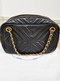 Prada Chain Leather Shoulder/Crossbody Bag Angle2