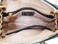 Prada Chain Leather Shoulder/Crossbody Bag Angle3