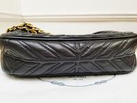 Prada Chain Leather Shoulder/Crossbody Bag Angle6