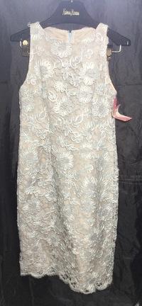 Michael Kors Embroidered Sheath Dress Sz 6 nwt