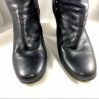Chloe Black Leather Paddington Wrap Hardware Boots Angle3