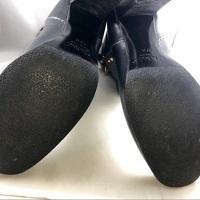 Chloe Black Leather Paddington Wrap Hardware Boots Angle5