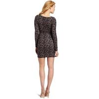 Tracy Reese Keyhole Bodycon Spots Print Dress Angle3