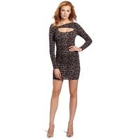 Tracy Reese Keyhole Bodycon Spots Print Dress Angle2