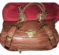 Versace Crocodile Bag