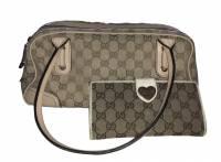 Gucci bag and wallet set