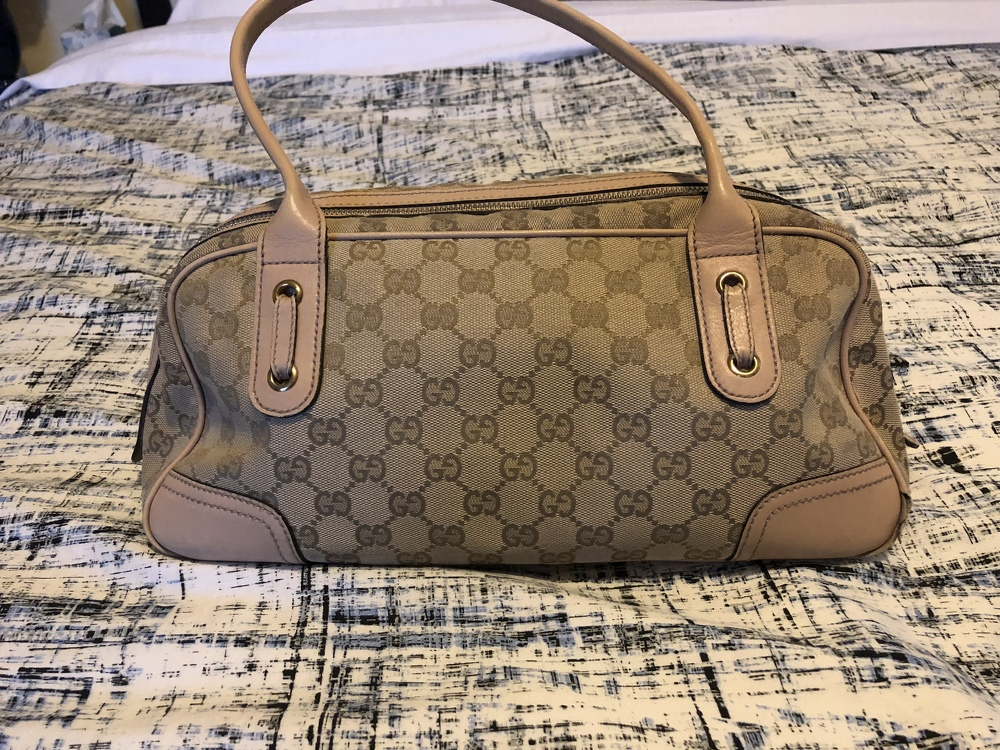 Gucci bag and wallet set