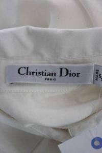 Christian Dior- Crew Neck Pleated Shirt Dress Angle3