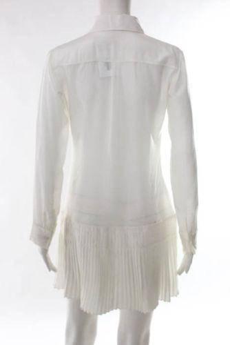 Christian Dior- Crew Neck Pleated Shirt Dress