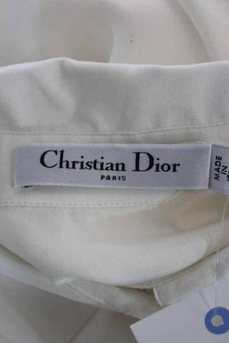 Christian Dior- Crew Neck Pleated Shirt Dress