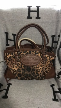 "Dolce & Gabbana ""animalier"" leopard tote bag"