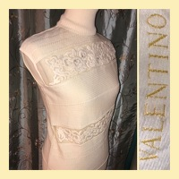 Cream Colored Embellished Top Angle5
