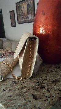 Vintage Dior Chain strap  Clutch/shoulder bag Angle2