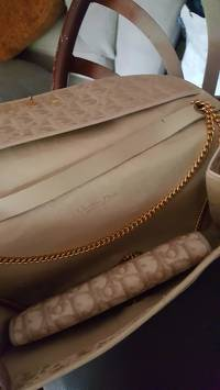 Vintage Dior Chain strap  Clutch/shoulder bag Angle5