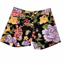 Lovely Floral Print Shorts