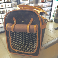 Louis Vuitton Pet Carrier Angle4