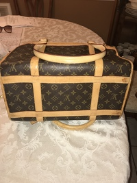 Louis Vuitton Pet Carrier Angle7