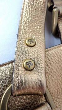 Gold Mulberry tote bag Angle4