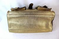 Gold Mulberry tote bag Angle8
