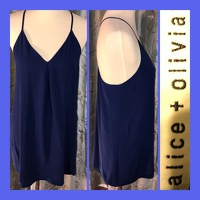 Dark Blue Slip Dress
