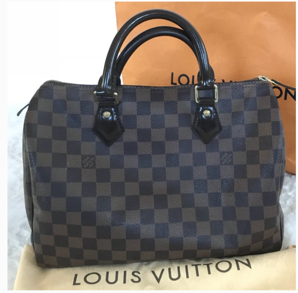 Louis Vuitton LV Speedy 30 Damier Ebene