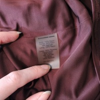 Alexander Wang Body contour Dress - Burgundy Angle6